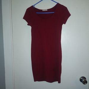 Red Burgundy Dress